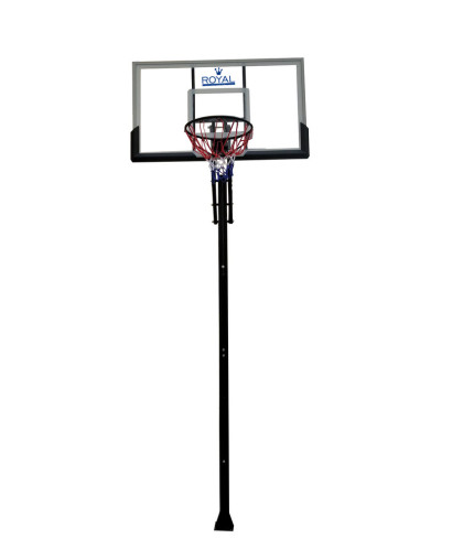 "Баскетбольная стойка стационарная Royal Fitness 54"" S025S"