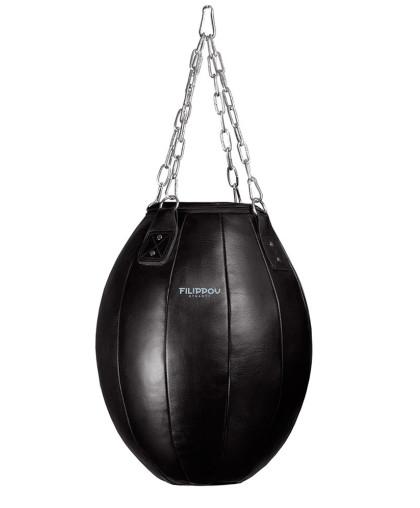Боксерская груша FILIPPOV-DYNASTY Шар кожаная