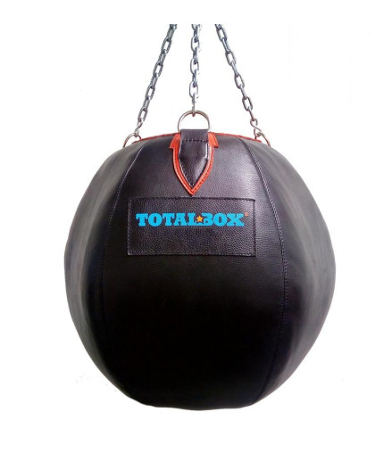 Боксерская груша кожаная TOTALBOX ГБК Шар