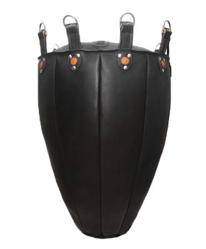 Боксерский мешок Тяжеловес (Конус) кожаный