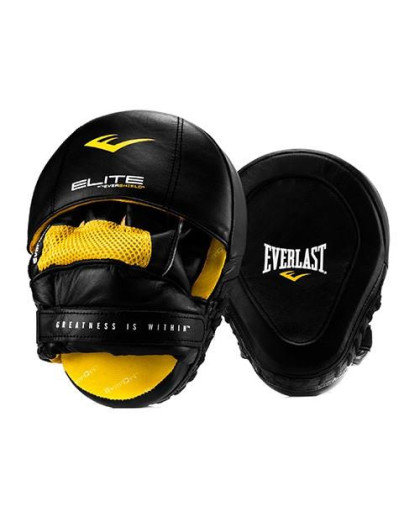 Боксерские лапы Everlast Pro Elite Leather Mantis