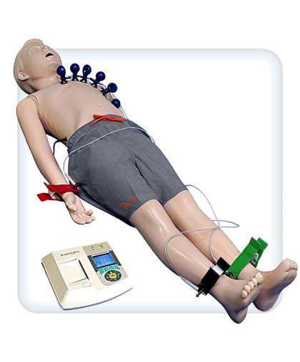 Манекен-тренажер для отработки навыков ЭКГ
