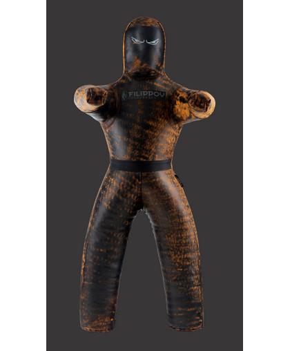 Борцовский двуногий манекен DIKO FILIPPOV из буйволиной кожи
